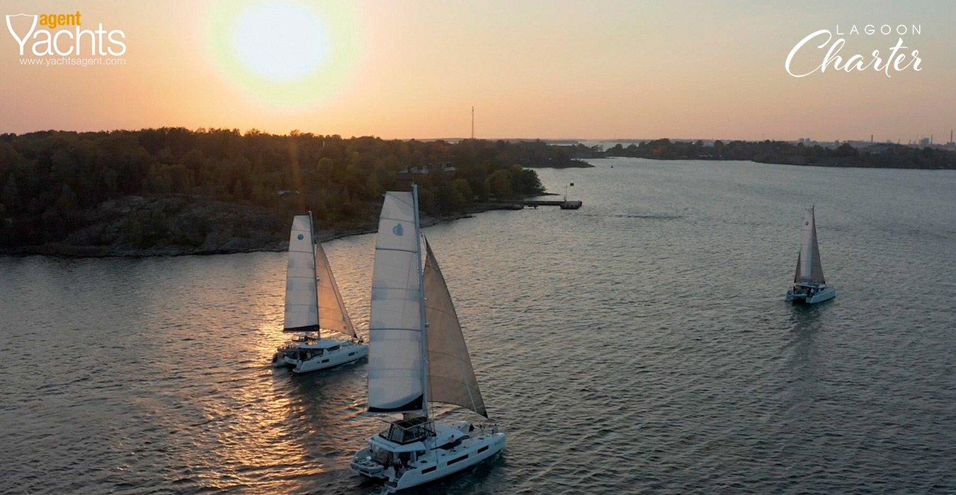 Lagoon Charter Karioca II risteily