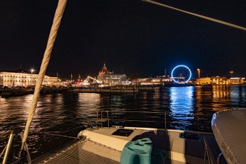 Lagoon Charter Helsinki by night edustusristeily 2020