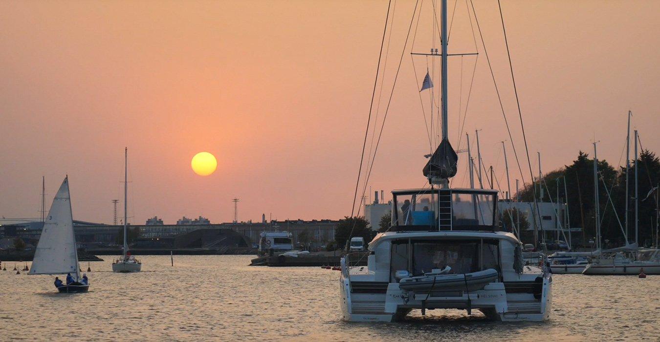 Lagoon Charter purjehduskohteena Suvisaariston Pentala