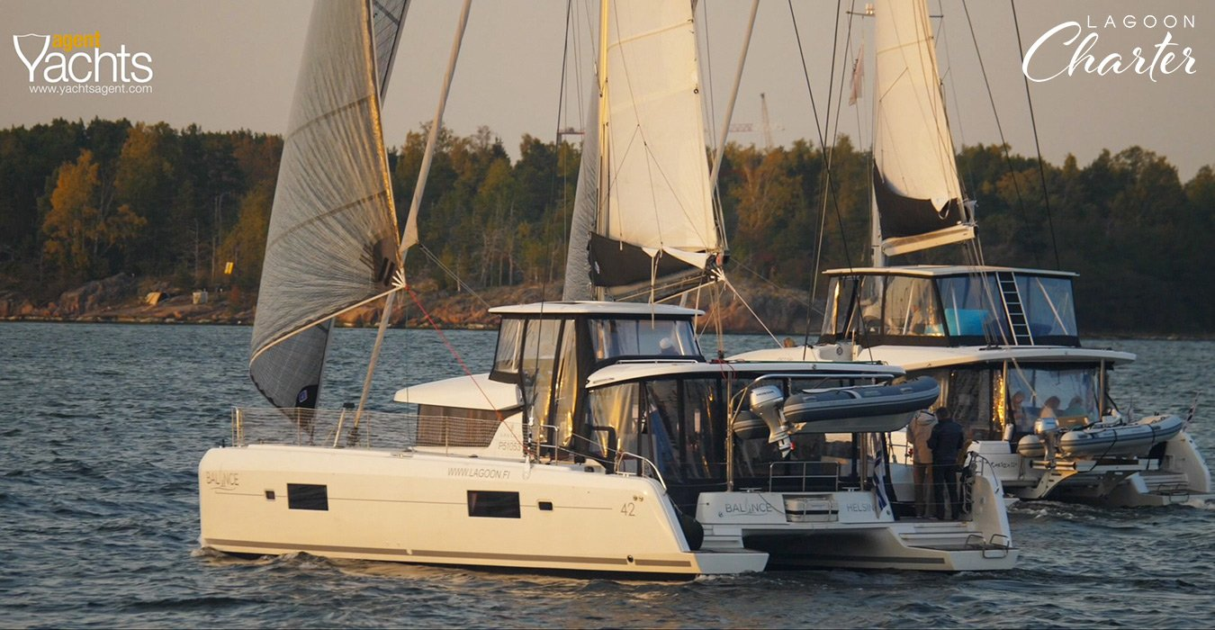 Lagoon Charter Balance 3 risteily