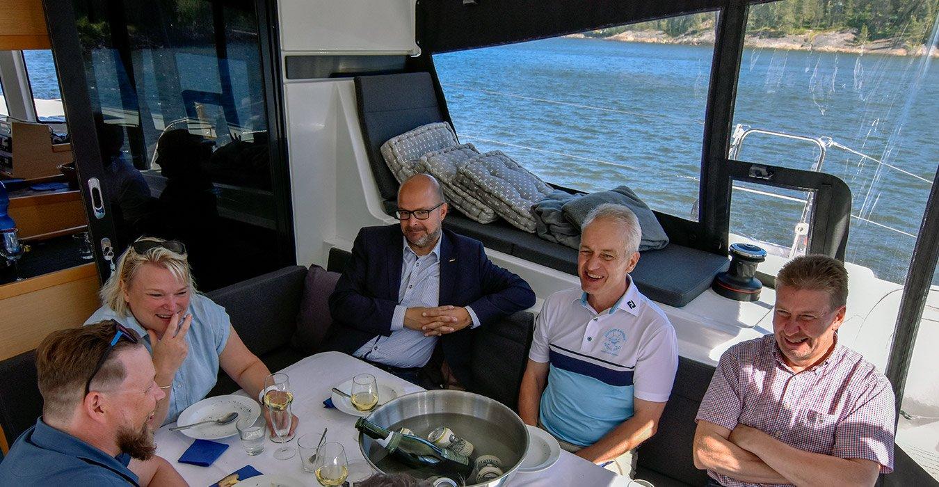 Lagoon Charter Vallisaari ruoka