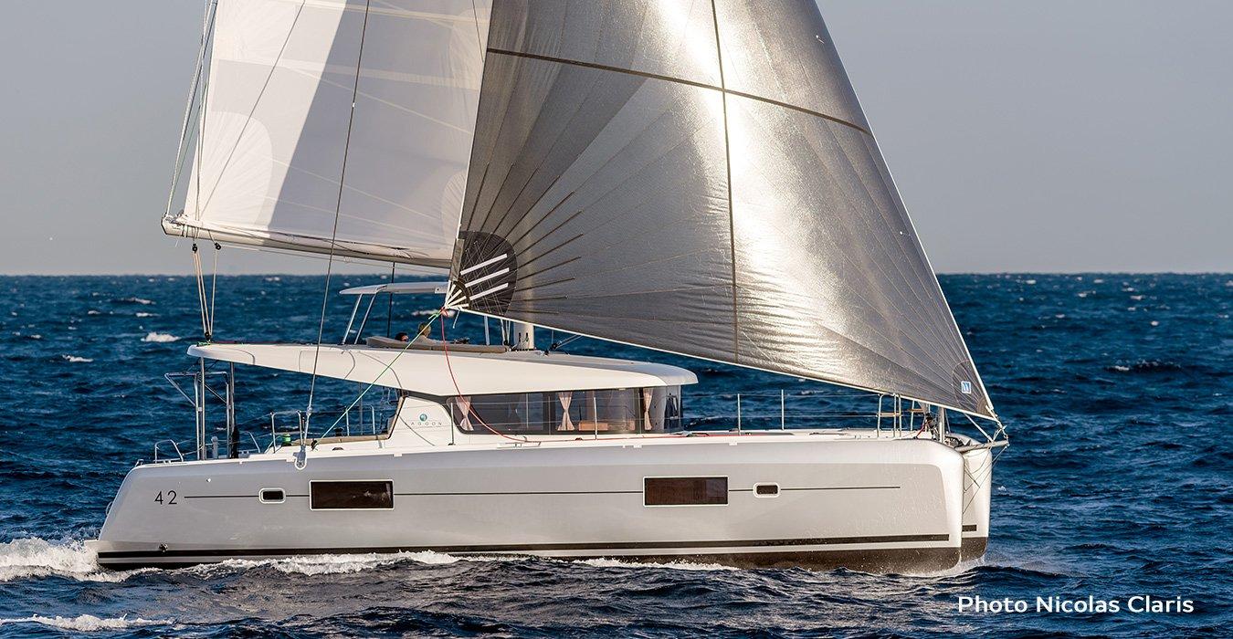 Lagoon 42 charter alus Balance 4